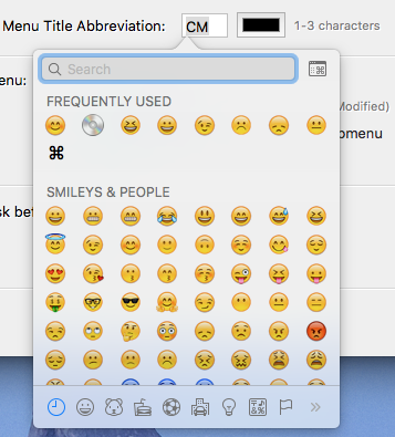 Emoji and Symbols