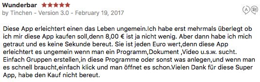 CustomMenu 3, 5-Stars from Germany